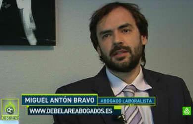 Abogado laboralista de Madrid trata la huelga de futbolistas.
