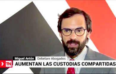 Abogado en Madrid habla de la custodia compartida en TeleMadrid.