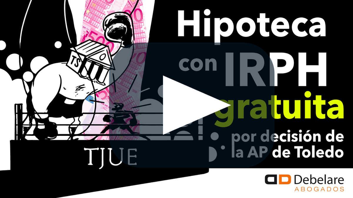 Hipoteca con IRPH gratis, sin intereses por sentencia de la Audiencia Provincial.