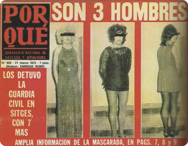 Así estaban las cosas para el colectivo LGTBI en España en aquel entonces.