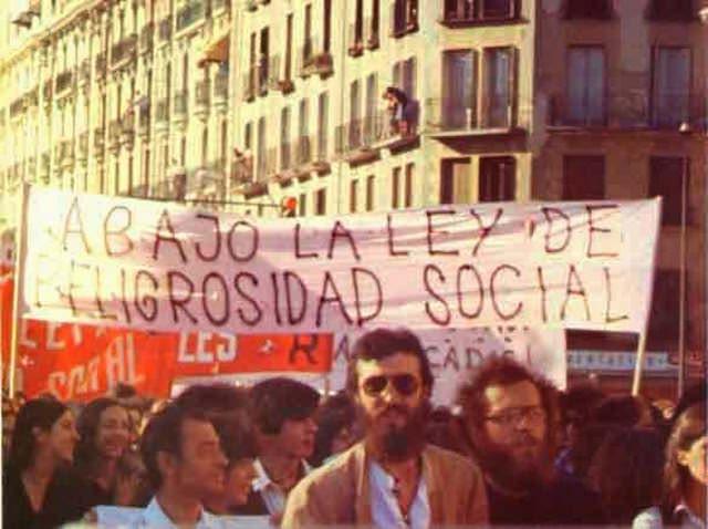 La homosexualidad fue retirada de la Ley de Peligrosidad y Rehabilitación Social 1978.